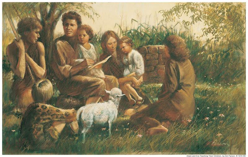 adam-eve-children-mormon
