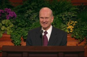 general conference russell m. nelson mormon