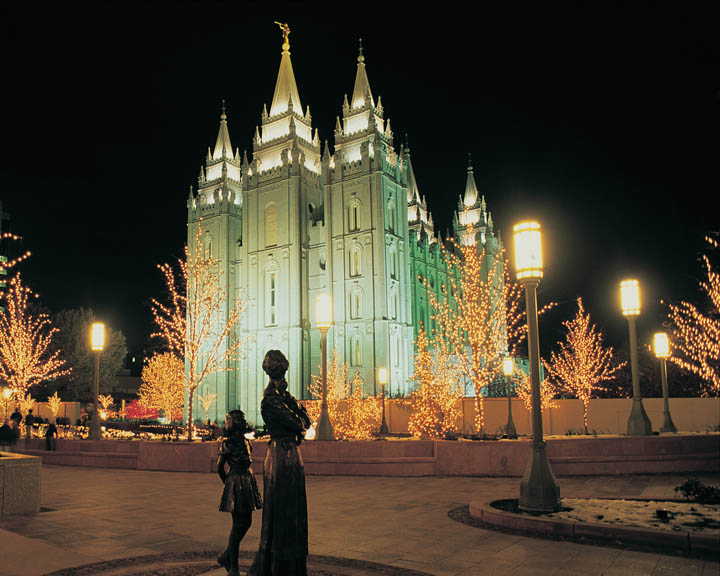The 2007 Christmas Season on Temple Square