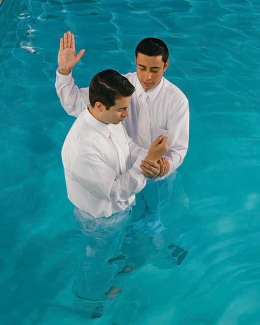 Mormons Make Covenants when Baptized