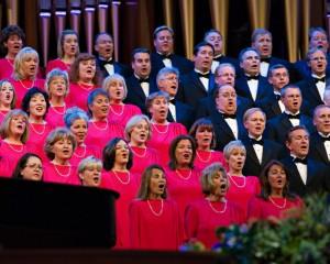 mormon choir