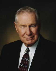 President James E Faust mormon