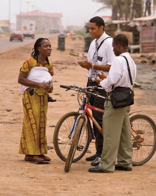 Elder Mormon Missionaries