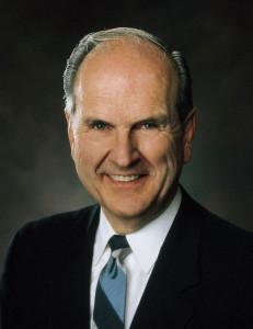 Elder Russell M Nelson mormon