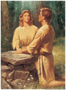 Adam and Eve Mormon
