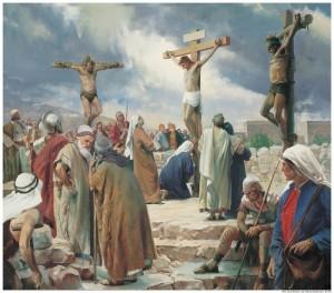 Crucifixion Christ Cross Mormon