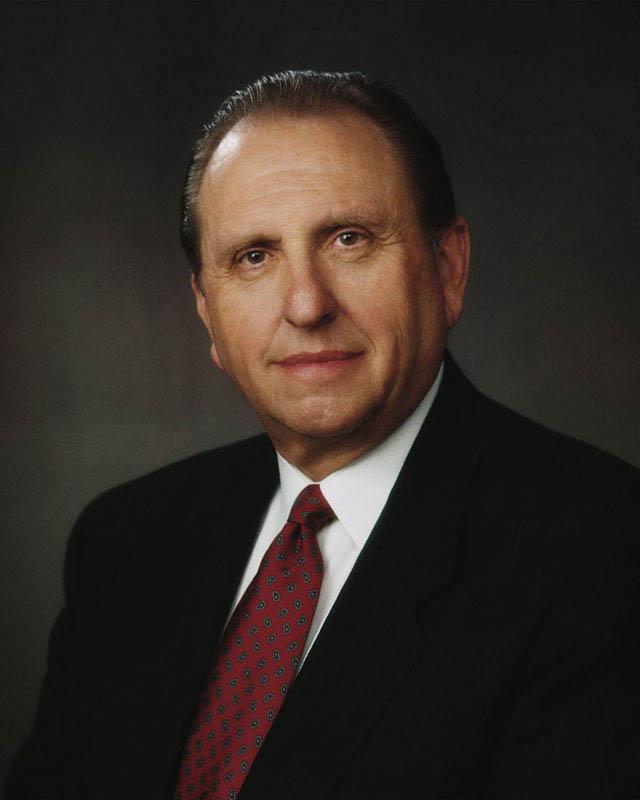 President Thomas S Monson Mormon