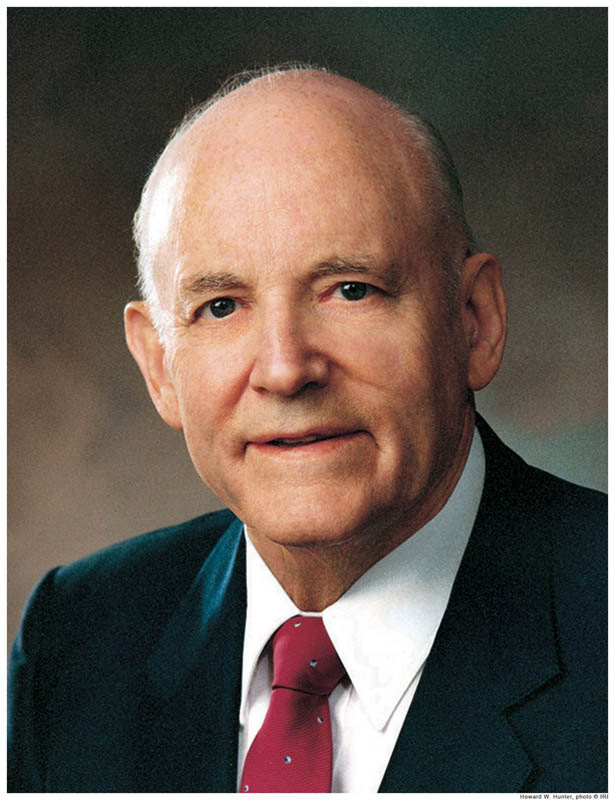 Howard W. Hunter Mormon