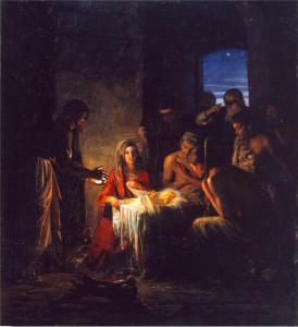 Nativity Jesus Christ Mormon