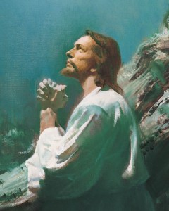 Mormon Christ Gethsemene