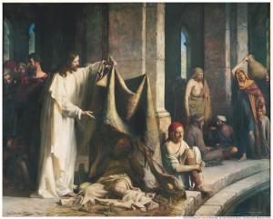 Christ Healing Bethesa Mormon