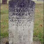 George Holman tombstone Mormon