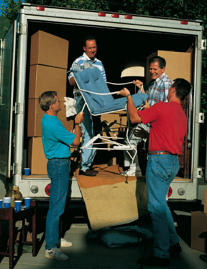 men helping people move