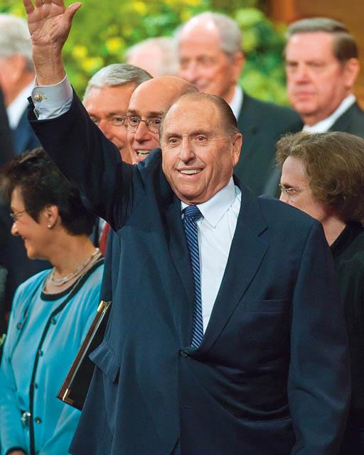 Pres. Thomas S. Monson Mormon