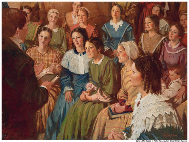 Relief Society Women Mormon