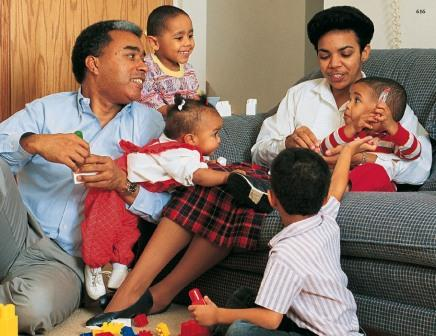 Mormons consider family life to be sacred.