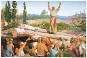Mormons follow the prophet to follow God.