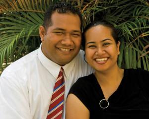 Mormon couple