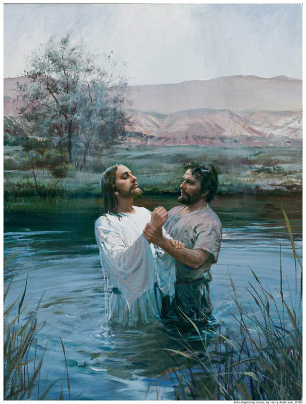 Holy Spirit was present at Christ's baptism