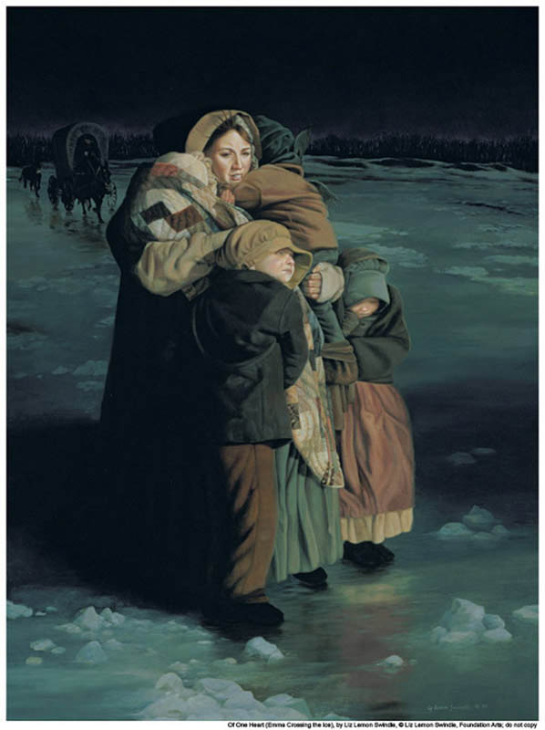 Mormon history Winter Suffering