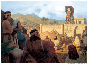 In the Book of Mormon, King Benjami gave a sermon on the atonement of Jesus Christ