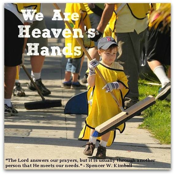 We are Heaven's Hands