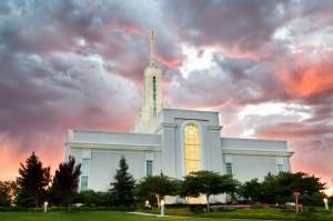 Mount Timpanogos Mormon Temple