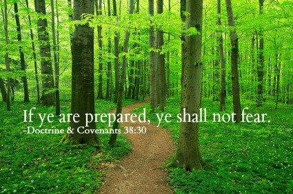 If ye are prepared, ye need not fear