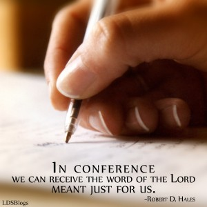 General Conference gives us answers to our questions.