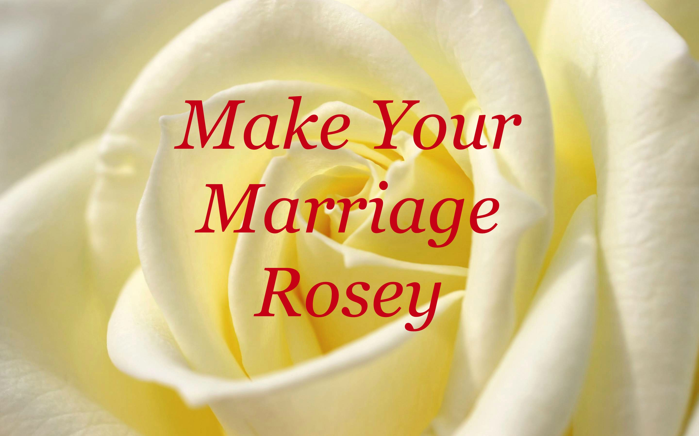 Marriage  To read all of Tudie Rose's article on marriage, click the picture.