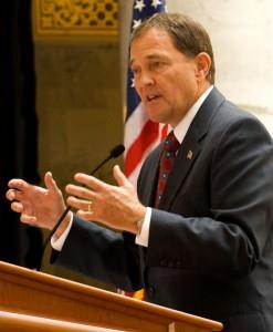 Gary Herbert, Utah Governor and Mormon
