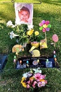 child's grave (Hailey)