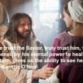 Trust the Savior.