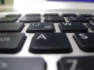 computer keyboard for blogging