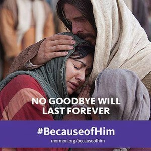 No goodbye will last forever.