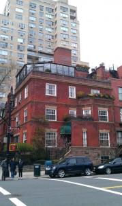 Red brick buiding in Manhattan