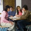 Female leaders planning a meeting