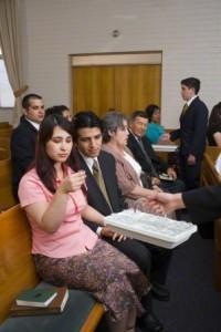 Mormon Sacrament (Communion)
