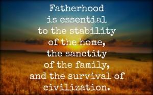 fatherhood is essential
