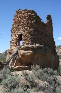 ruins truby tower new mexico anasazi desert navajo