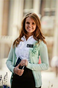 LDS Sister Missionary