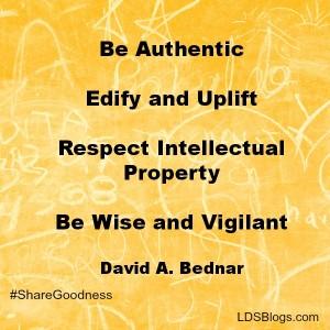 Elder Bednar's rules for sharing the gospel