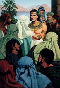 Joseph greets his brothers (Old Testament)