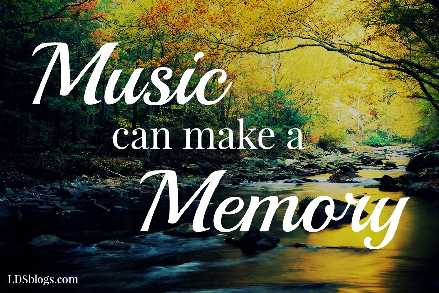 Music can make a memory