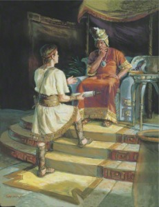 Ammon before the king
