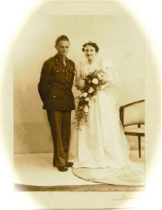 ancestor wedding photo