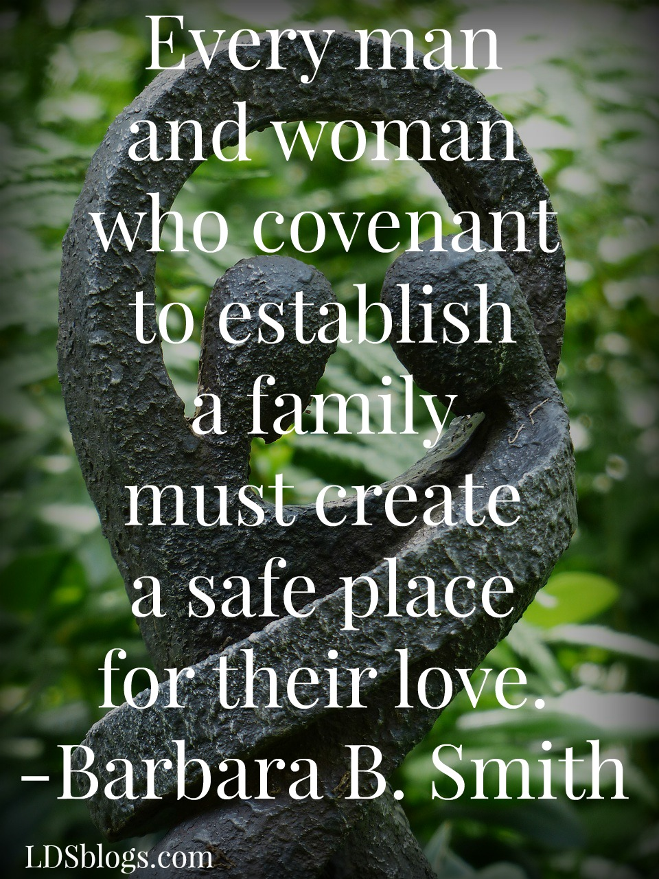 Marriage:  The Safest Place on Earth