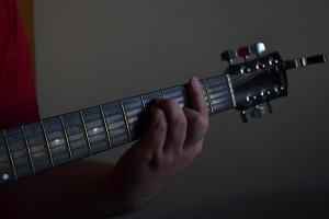 Guitar Bar-E shape