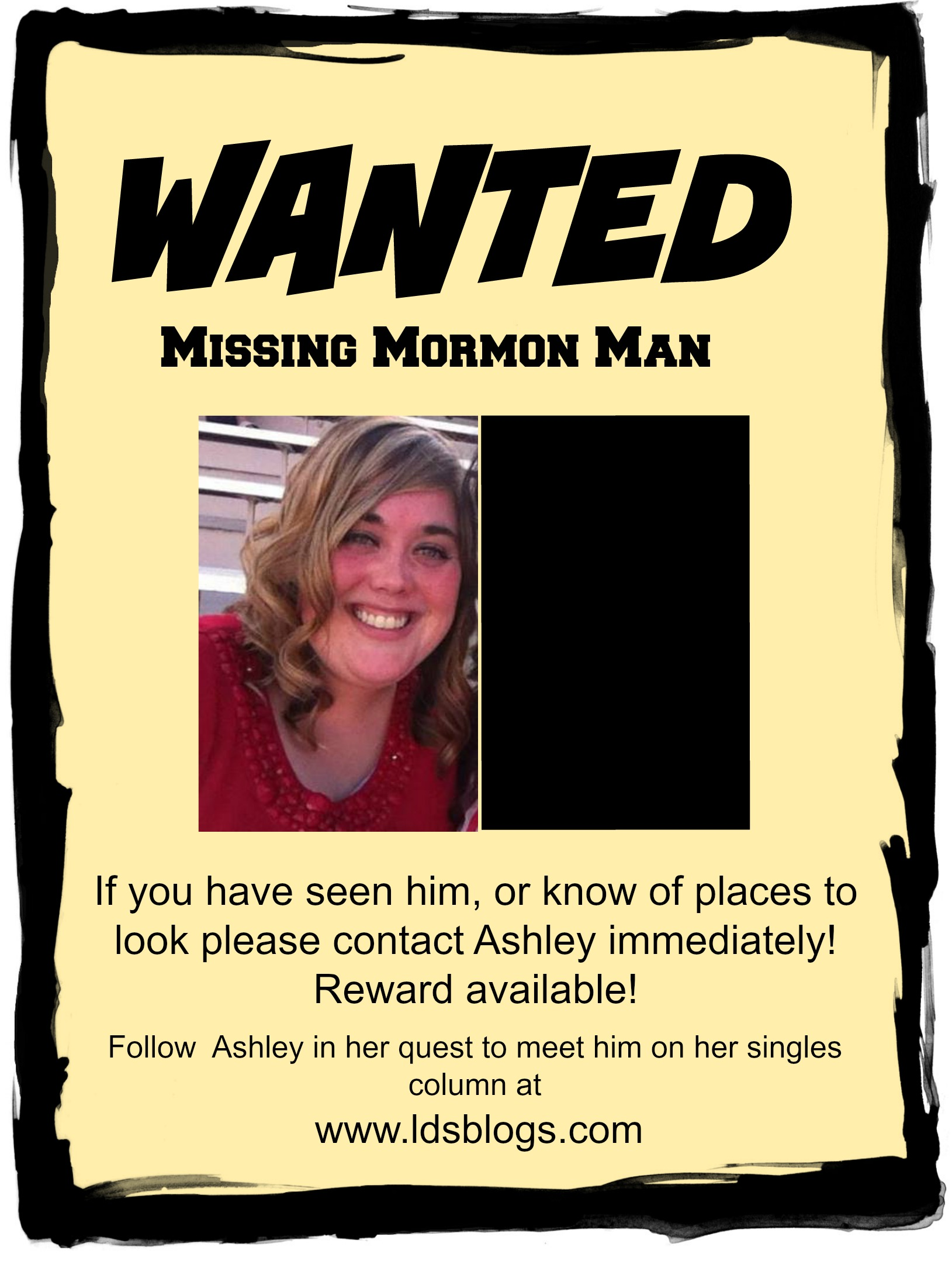 Wanted: Mormon Man (to date)