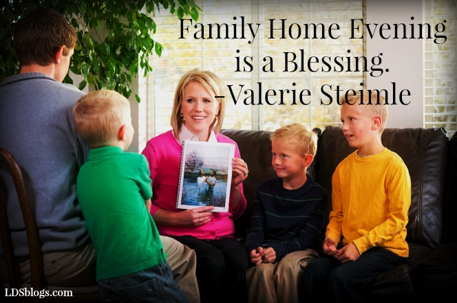 Family Home Evening: A Blessing for Parents